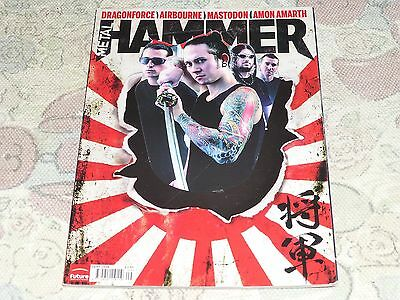 Metal Hammer Magazine September 2008 Lemmy Dragonforce Airbourne Etc