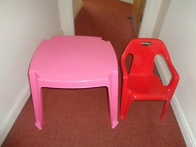 Children furniture plactic table and chair