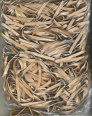 Large Bag Of #64 Heavy Duty Office And Mailing Rubber Bands 100 Per Bag