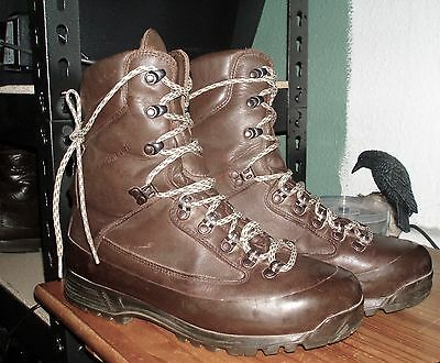 9 M Karrimor SF BROWN COMBAT BOOTS BRITISH Army/Marines Goretex Cold Weather 43