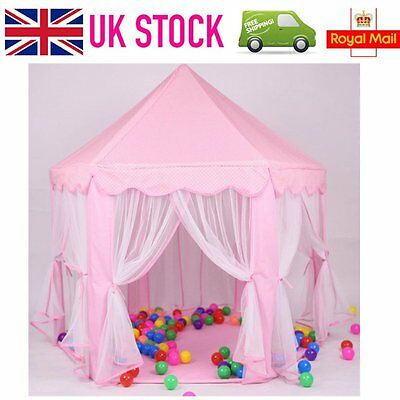 Princess Castle Play Tent Girls Party Children Kids Birthday Indoor Outdoor