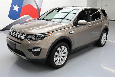 2015 Land Rover Discovery  2015 LAND ROVER DISCOVERY SPORT AWD HSE PANO ROOF NAV!! #540465 Texas Direct
