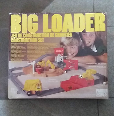 Vintage BIG LOADER CONSTRUCTION SET 1977 Tomy Parker Bros D-5001 PLEASE READ