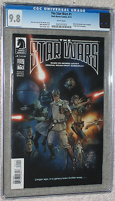 The Star Wars #1 CGC 9.8 white pgs based on original George Lucas screenplay