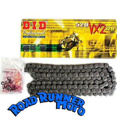 DID 520 VX2 gold X-ring motorcycle chain suits KTM 450SXF 4-stroke