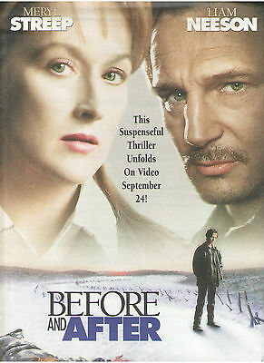 Before & After Press Kit Merly Streep Liam Neeson Too Much Banderas Griffith