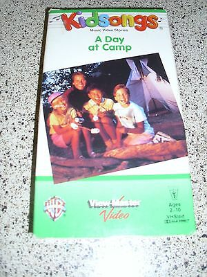 Kidsongs A Day At Camp Vhs