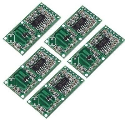 5Pcs RCWL-0516 Microwave Radar Sensor Switch Module Body Induction 4-28V 100mA