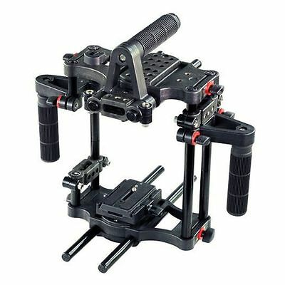 Filmcity Power DSLR Cage Rig Camera Base with Quick Release for Canon Sony Nikon
