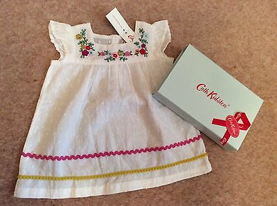Cath Kidston Baby Dress  6 - 12 Months & Gift Box
