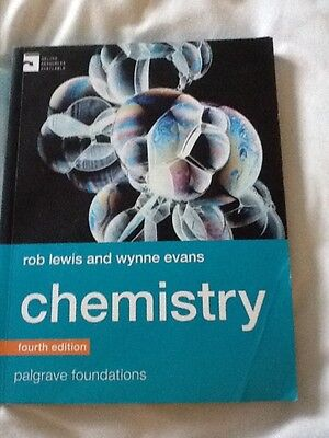 university foundation yr/ a level chemistry theory book