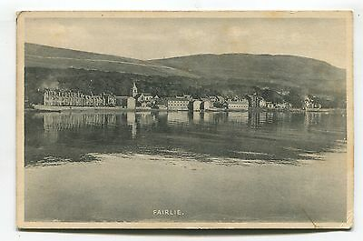Fairlie, Ayrshire - general view - 1938 used postcard