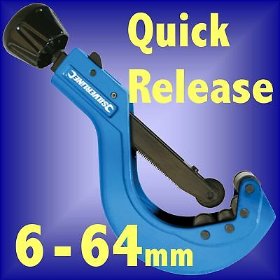 QUICK RELEASE TUBE CUTTER 6 - 64mm pipe slice reamer