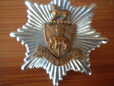 COVENTRY FIRE BRIGADE gilt  shield OBSOLETE