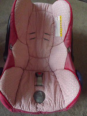 Maxi Cosi Cabriofix Baby Car Seat Cover - Lily Pink