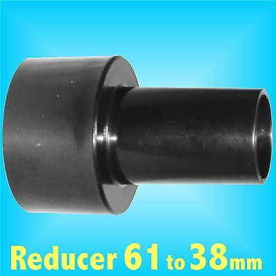 Reducer 61mm to 38mm for Dust Extraction Hose Charnwood SIP Record extractor