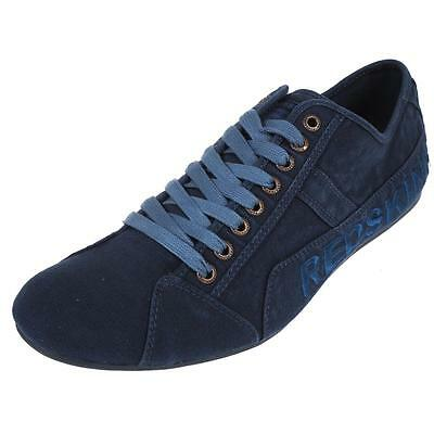 Chaussures basses toile  Redskins Tempo jeans canvas Bleu 26172 - Neuf