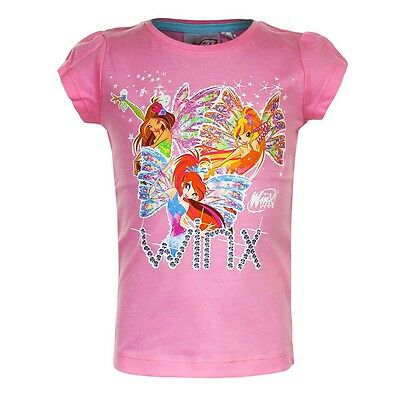 Winx Club - Girl T-Shirt Pink Size 98 - 128