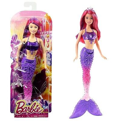 Barbie - Mermaid Doll - Jewels Princess Fairytale Purple