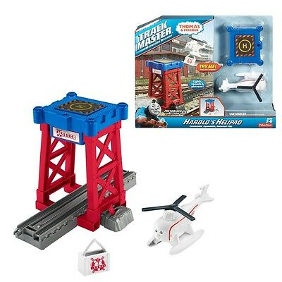Thomas and Friends - Set Harold's Helipad - Trackmaster Revolution Mattel