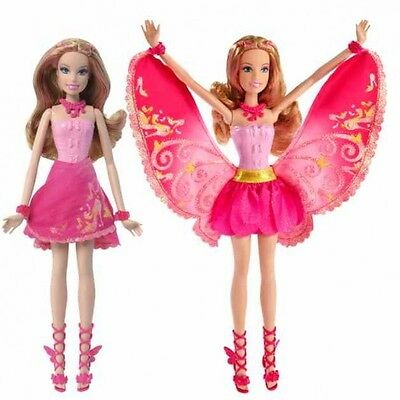 Barbie - A Fairy Secret - Doll Glittering Fairy Blonde