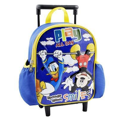 Mickey Mouse - Small Children Trolley Backpack Play All Day 27x22x10 cm