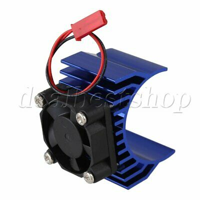 Navy N10098 Alloy Heat Sink With Fan Cooling For 550/540 1:10 RC Car Motor New
