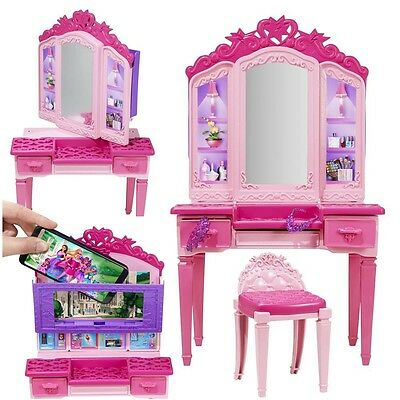 Barbie - The Superhero Princess - Dressing Table Vanity Playset