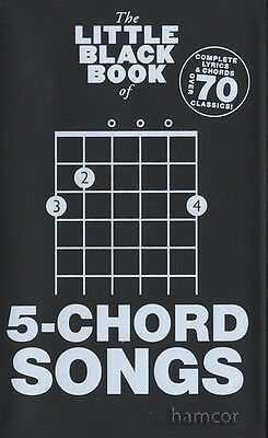 The Little Black Book of 5-Chord Songs Guitar Chord Songbook