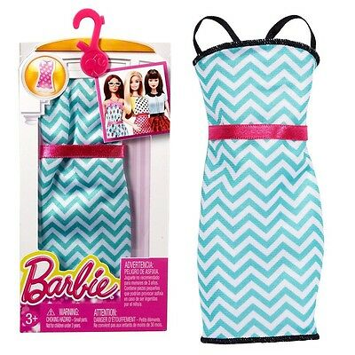Barbie - Trend Fashion for Barbie Doll Clothes - Sundress Green / White