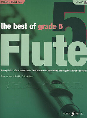 The Best of Grade 5 Flute Sheet Music Book with CD & Piano Accompaniment