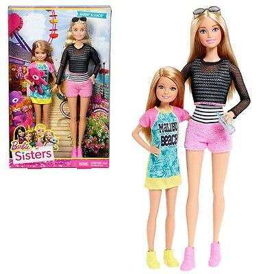 Barbie - Family 2-Pack Dolls Sisters Barbie & Stacie