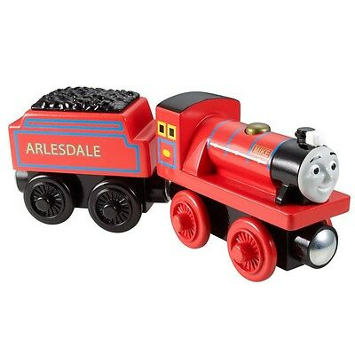 Thomas ei suoi Amici - Mike Locomotiva - Ferrovia in Legno - Mattel Thomas and F