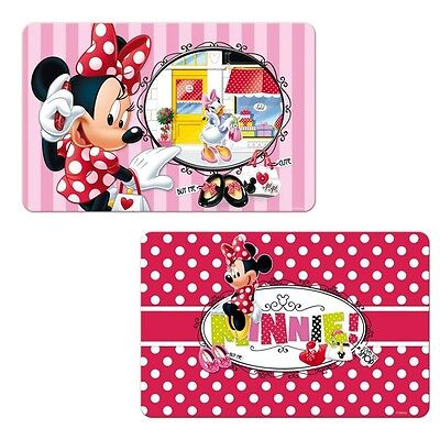 Disney Minnie Mouse - Choice Set Table Mat, Placemat 3D Effect
