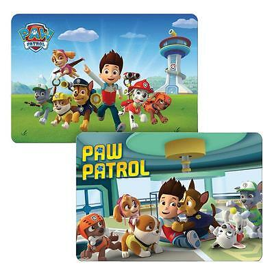 Paw Patrol - Choice Set Table Mat, Placemat 3D Effect