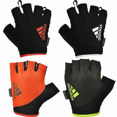 Adidas 2017 Essential Half-Finger Weight Lifting Training Mens Fitness Gloves