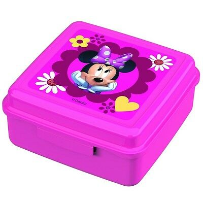 Minnie Mouse - Caja Merienda Rectangular 13 x 13 x 6,5 cm