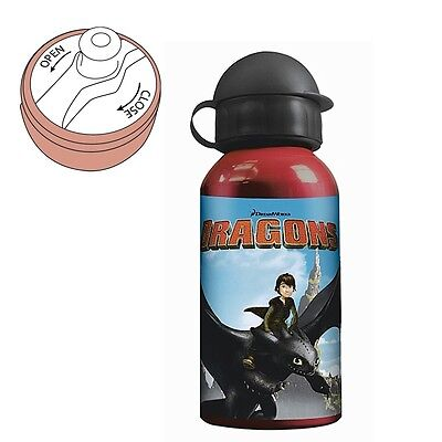 Dragons - Botella de aluminio 400 ml