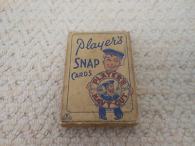 John Player Cigarettes Rare Snap Card Box / Packet  1930
