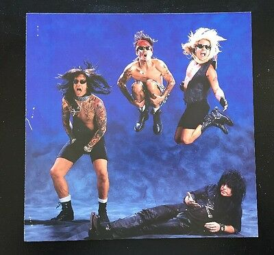 "MOTLEY CRUE Poster ""Decade Of Decadence""1991 In Stores Now Promo 2-Sided Flat"