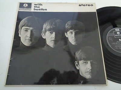 the  beatles ( with  the  beatles )  album  on  parlophone  records  reissue