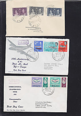 047339 Fiji  FDC First Day Cover`s - Lot