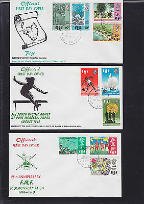047342 Fiji  FDC First Day Cover`s - Lot