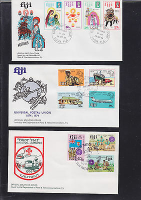 047347 Fiji  FDC First Day Cover`s - Lot