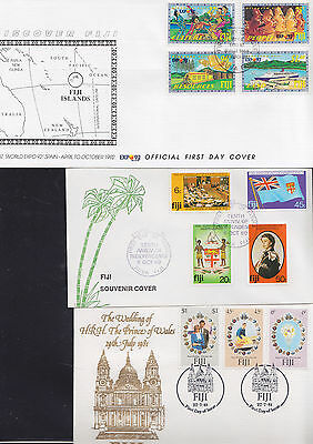 047350 Fiji  FDC First Day Cover`s - Lot