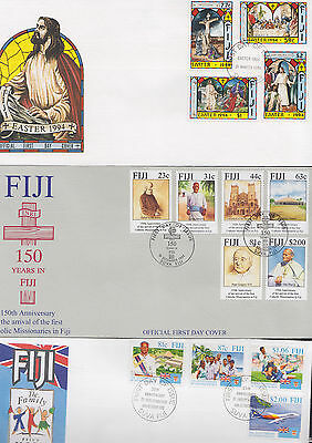 047365 Fiji  FDC First Day Cover`s - Lot