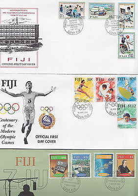 047369 Fiji  FDC First Day Cover`s - Lot