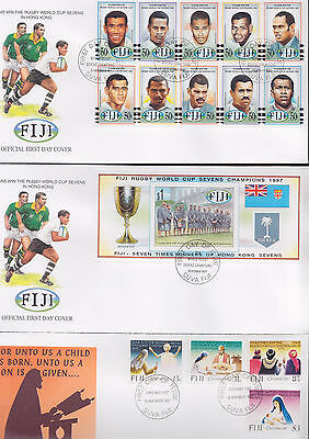 047380 Fiji  FDC First Day Cover`s - Lot