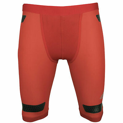 adidas Techfit Powerweb Compression Shorts Funktionshose Herren S95763 rot