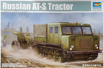 TRUMPETER® 09514 Russian AT-S Tractor in 1:35